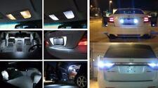 Fits 1997-2001 Honda Prelude Reverse White Interior LED Lights Package Kit 12pc