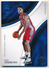 BEN SIMMONS 2016/17 IMMACULATE COLLECTION RC ROOKIE PHILADELPHIA 76ERS SP #09/99