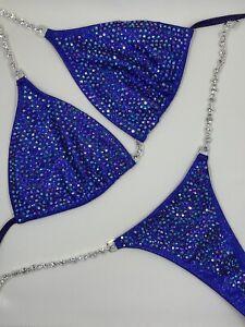 NPC/IFBB Purple bikini competition suit by Toxic Angelz