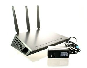 NETGEAR NIGHTHAWK D7000 - AC1900 WIFI ROUTER WITH POWER CORD AND ANTENNAS