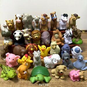 Random 10X Little People Farm Barn Animals Zoo Figures Nativity Lot Xmas Gift