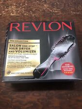 Revlon One Step Hair Dryer and Volumizer Pink Sealed