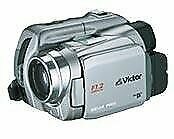 Jvc Digital Video Camera With Kenwood Jvc Lcd Silver Gr-Df590-S