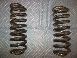 05 06 07 Ford 6.0 5.4 6.8  E350 E450 front coil springs  OEM spring set