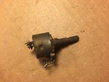 "Vintage 1957 CTS 500k ohm 1/4"" AUDIO Potentiometer Guitar Pot Power Snap Switch"
