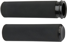 Arlen Ness Fly-By-Wire Fusion Series Grips Black Knurled 07-327