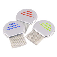 Nitty Gritty Nit Free Comb Removes All Head Lice Nits Eggs Steel Metal Hea#YW