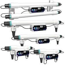 Evolution Aqua UV Steriliser NEW 2021 UVC Clarifier Filter Evo Green Water Pond