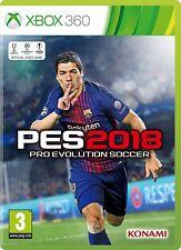 Pro Evolution Soccer 2018 Xbox 360 Game