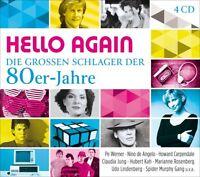 HELLO AGAIN-DIE GROßEN SCHLAGER DER 80ER-JAHRE  4 CD NEU
