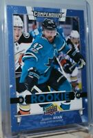 2017-18 Upper Deck Compendium Blue #843 Rookie RC Rookies Joakim Ryan Sharks