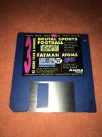 Amiga Power Magazine cover disk 31 Brutal Sports Football Fatman