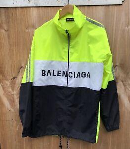 Balenciaga Track Jacket Hi Visibility