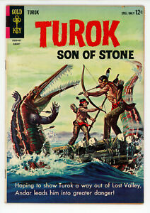 JERRY WEIST ESTATE: TUROK SON OF STONE #36 (FN) & 37 (FN+) (Gold Key 1963-64)