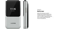 Nokia 2720 Flip Phone Dual Sim (Unlocked) White