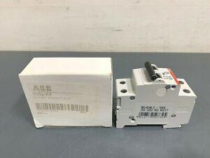 New ABB S202-K1 480Y/277V 2P 1A Circuit Breaker