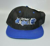 Orlando Magic Logo 7 Universal NBA Vintage 90s Snapback Cap Hat - NWT