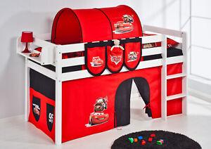 Spielbett Hochbett Kinderbett Kinder Bett JELLE Cars