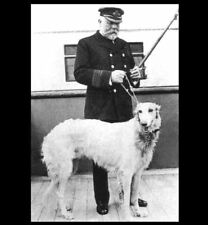 Titanic Captain EJ Smith His Dog Ben PHOTO Tragic Ship Sinking Disaster Tragedy