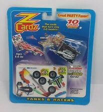 Z Cardz Tanks & Racers 10 Card Value Pk Brand New