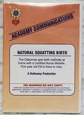 The Bradley Method Teacher's DVD Natural Squatting Birth at Home with 5 yr Child