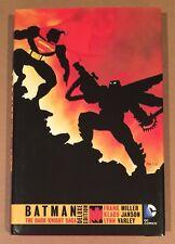 BATMAN THE DARK KNIGHT RETURNS SAGA • DELUXE HARDCOVER • SIGNED FRANK MILLER COA