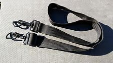 "5UU01 SHOULDER STRAP, LIGHT DUTY, 1-1/2"" WIDE, 27"" - 47"" LONG, NO PAD, VERY GOOD"