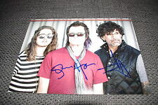 CALIFORNIA BREED Glenn Hughes & Joey Castillo signed Autogramm auf InPerson RAR