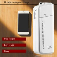 Portable AA External Battery Emergency USB Charger For MP3 Player for iPhone