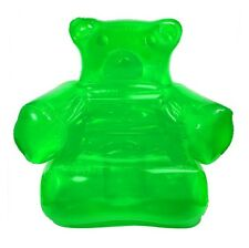 Green Inflatable Gummy Bear Chair Candy Furniture Toy Bedroom Decoration