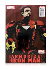 Sen-Ti-Nel Sentinel Marvel Armorize Iron Man Metallic Ver. Exclusive Figure MISB