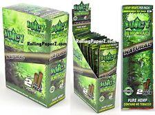 FULL BOX of 25 Packs(2 per pack) JUICY HEMP WRAPS - NATURAL Flavored