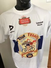 Adult Large Cycling SHIRT TOUR DE FRANCE GOURMAND