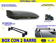 Baule Box Tetto auto per Subaru XV 5p dal 2011> con Barre Portatutto kit in set