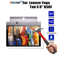 """2.5D Genuine Tempered Glass Screen Protector Cover For Lenovo Yoga Tab 3 8"""" 850F"""