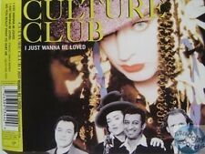 CULTURE CLUB I JUST WANNA BE LOVED MAXI CD 3T