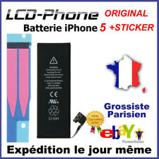 Batterie iPhone 5 Interne Neuve 0 Cycle - Grade AAA + STICKER