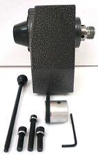 "Deluxe Mini Wood Lathe Headstock 8"" Swing 1-8 x MT1 Ball Bearing Spindle New"
