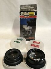 Philips Conversion Lens Set Wide Angle Telephoto Adapter Rings SBC-5311