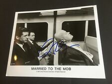 Alec Baldwin signed foto 20x26 autógrafo married to the Mob