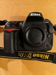 Nikon D300s Digital SLR Camera with Strap, Screen Protector & Cap Only
