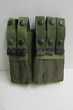 Israeli IMI 9MM Magazine Mag Belt Pouch 5 Pocket Nylon Military OD Unissued UZI