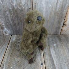 Vintage Chipmunk Stuffed Animal Brown Cascade Collection Plush Squirrel Korea Re