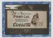 1995 Coors #80 Pony Bottle Billboard Non-Sports Card 0b5