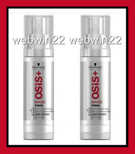 2pcs SCHWARZKOPF OSIS MAGIC Anti Frizz Shine Gloss Serum treatment 50ml dry hair