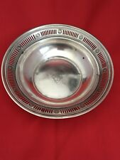 TOWLE STERLING SILVER VINTAGE ANTIQUE CANDY DISH / BOWL #343
