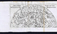 Constellations of Southern Celestial Sphere-1739 Pluche Map Prints (x2)