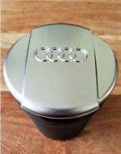 Audi Ashtray New Brushed chrome Coin Storage Cup Container Cigar Ash Tray Q7 A6