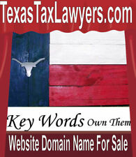 Texas Tax Lawyers .com Key Words Put Your Website  Web Domain Name For Sale URL