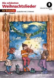 Die schönsten Weihnachtslieder für Bratsche  PORTOFREI VOM FACHHÄNDLER